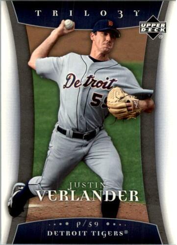 Photo of 2005 Upper Deck Trilogy #57 Justin Verlander RC