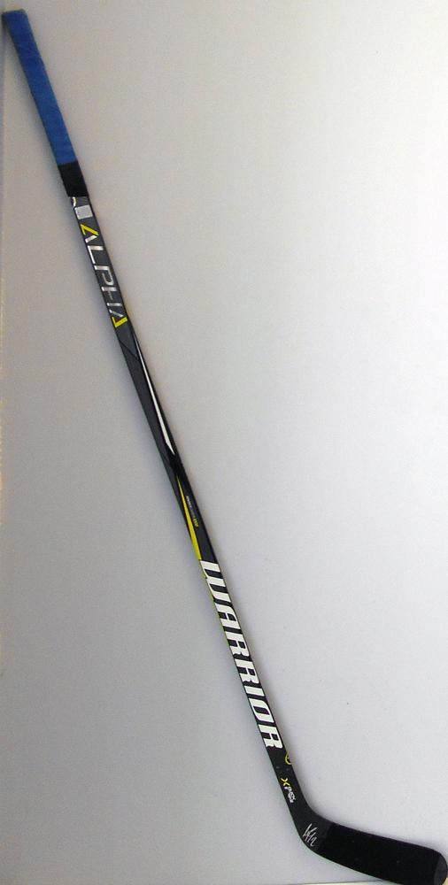 #2 AndrejSekera Game Used Stick - Autographed - Edmonton Oilers