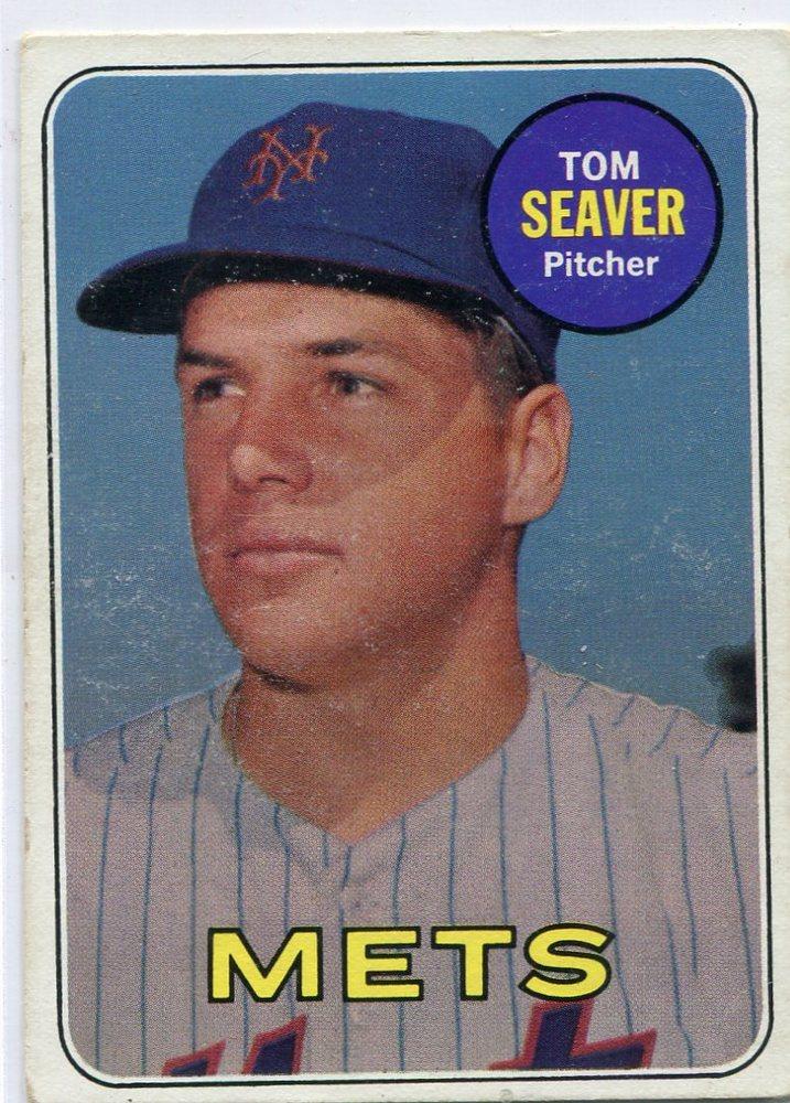 1969 Topps #480 Tom Seaver-- Hall of Famer