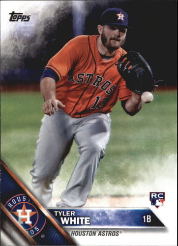 Photo of 2016 Topps Update #US211A Tyler White Rookie Card