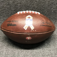STS - 49ERS GAME USED FOOTBALL W/ STS RIBBON LOGO AND 49ERS TEAM LOGO (NOVEMBER 5, 2017)