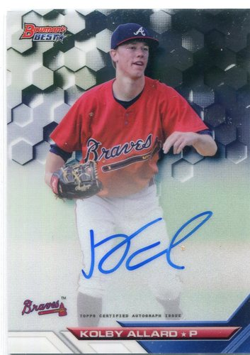 Photo of 2016 Bowman's Best Best of '16 Autographs Kolby Allard