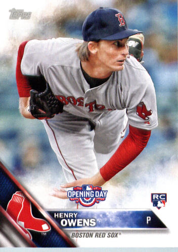 Photo of 2016 Topps Opening Day #OD167 Henry Owens RC