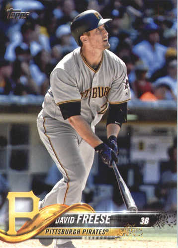 Photo of 2018 Topps #631 David Freese