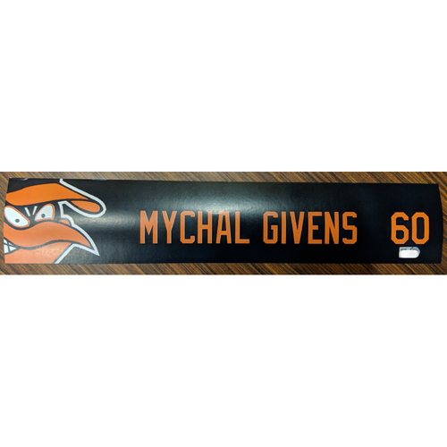 Photo of Mychal Givens #60 - Locker Tag: Team-Issued