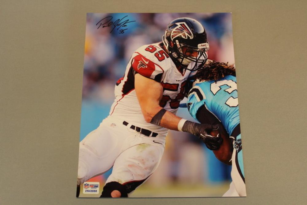 Falcons - Paul Worrilow signed 8x10 photo
