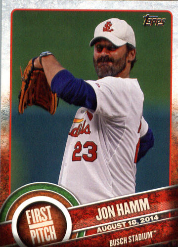 Photo of 2015 Topps First Pitch #FP18 Jon Hamm