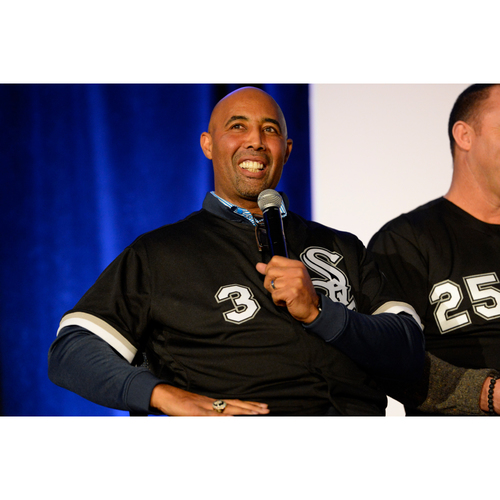 Photo of Harold Baines Limited Edition Bobblehead VIP Session