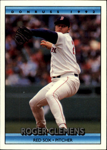Photo of 1992 Donruss #244 Roger Clemens