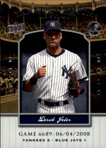 Photo of 2008 Upper Deck Yankee Stadium Legacy Collection #6689 Derek Jeter