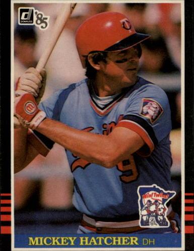 Photo of 1985 Donruss #194 Mickey Hatcher
