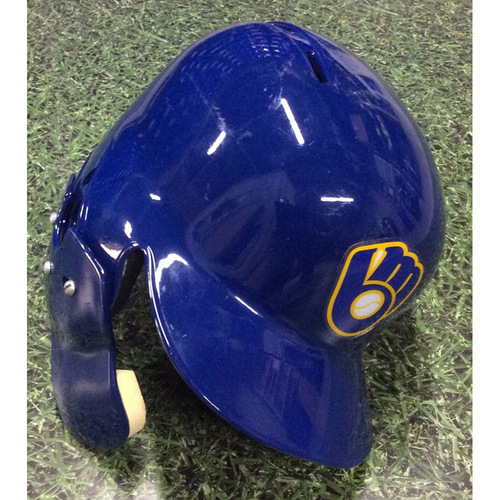 Photo of Trent Grisham 2019 Game-Used Batting Helmet
