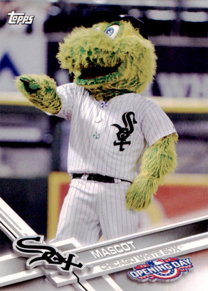 2017 Topps Opening Day Mascots #M16 White Sox Mascot