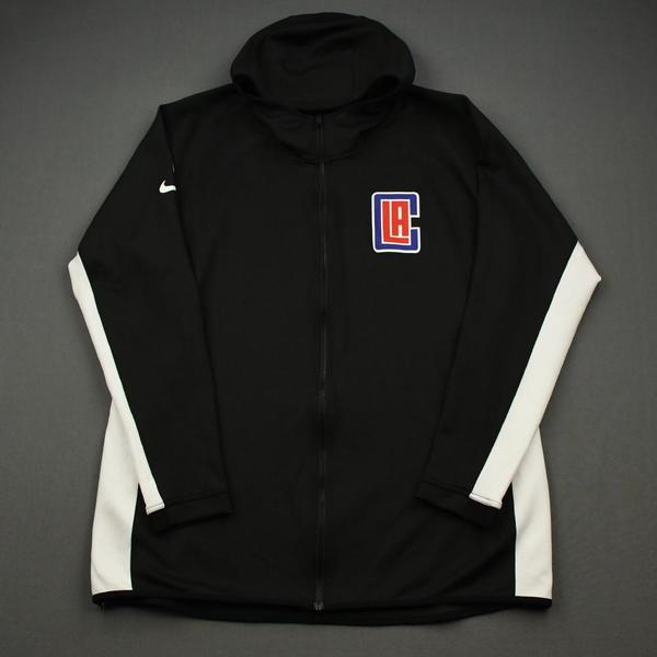 Image of Paul George - Los Angeles Clippers - Game-Worn Earned Edition Game Theater Jacket - 2019-20 NBA Season