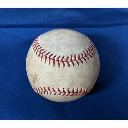 Photo of 2020 Game Used Baseball: Pitcher: Alex Wood, Batters: Jaylin Davis (Strikeout), Mauricio Dubon (Ground Out) - Top 2 - 7-25-2020 vs. SF