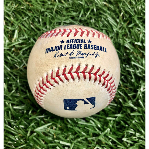 Photo of Rays Baseball Foundation: Game Used Home Run Baseball - Michael Chavis - August 5, 2020 v BOS