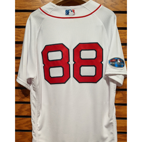 Photo of 2018 Postseason Martinez #88 Team Issued Home White Jersey