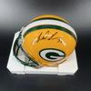 PCF - Packers Tramon Williams Signed Mini Helmet