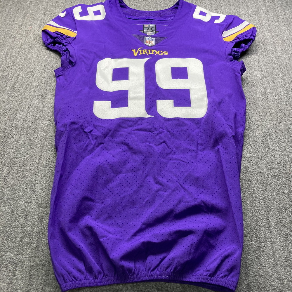 STS - Vikings Daniel Hunter Game Issued Jersey Size 42