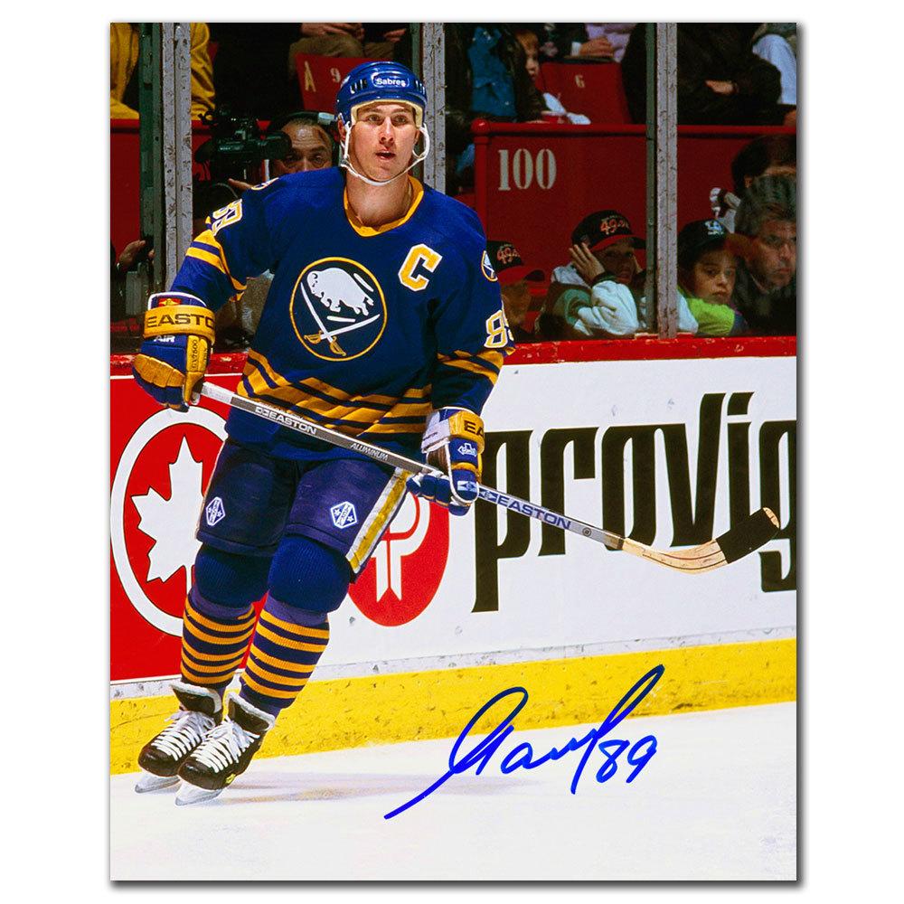 Alexander Mogilny Buffalo Sabres PLAYMAKER Autographed 8x10