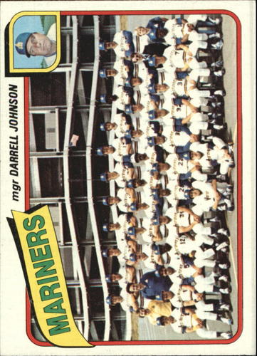 Photo of 1980 Topps #282 Seattle Mariners CL/Darrell Johnson MG