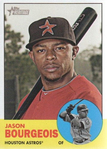 Photo of 2012 Topps Heritage #499 Jason Bourgeois SP