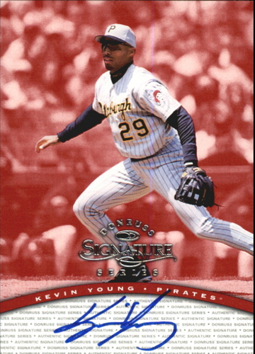 Photo of 1997 Donruss Signature Autographs #117 Kevin Young/3900
