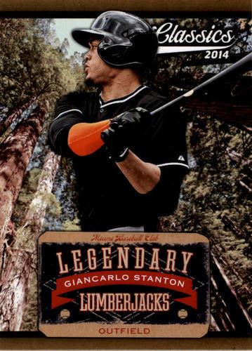 Photo of 2014 Classics Legendary Lumberjacks #17 Giancarlo Stanton