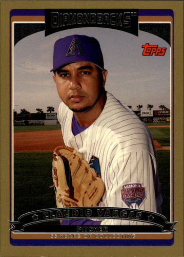 Photo of 2006 Topps Gold #353 Claudio Vargas