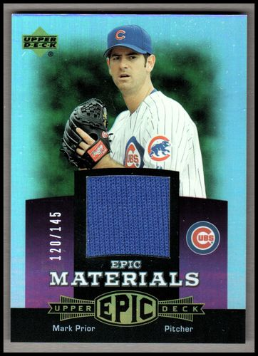 Photo of 2006 Upper Deck Epic Materials Light Purple #MA2 Mark Prior Jsy/145