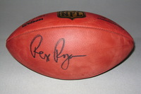 BILLS - REX RYAN SIGNED AUTHENTIC FOOTBALL