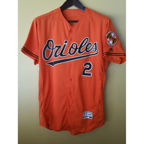 J.J. Hardy - Jersey: Game-Used