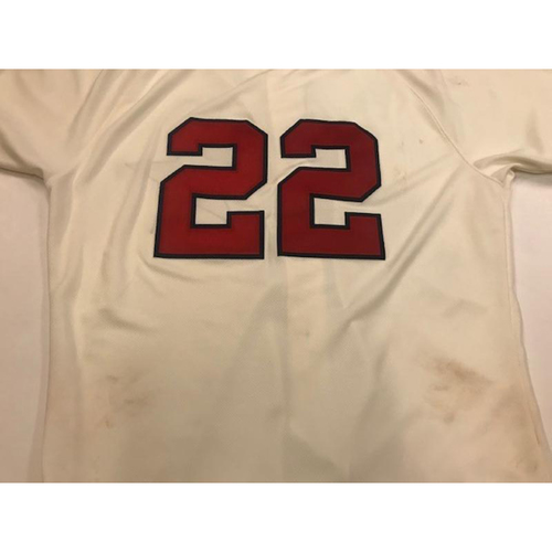 Photo of Game-Used Detroit Stars Jersey:  Victor Reyes