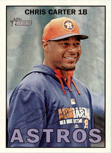 Photo of 2016 Topps Heritage #308 Chris Carter