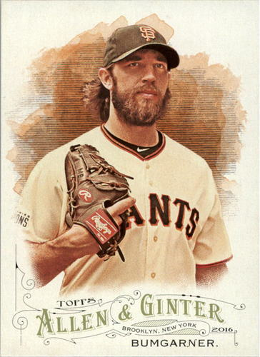 Photo of 2016 Topps Allen and Ginter #278 Madison Bumgarner