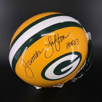 HOF - Packers James Lofton Signed Proline Helmet 9e0c7bc03