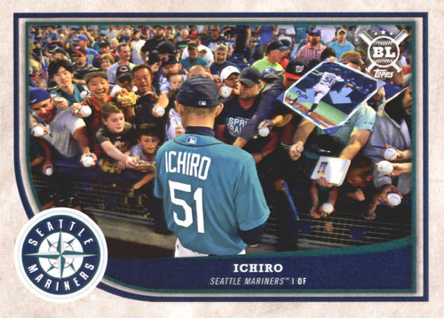 Photo of 2018 Topps Big League #226 Ichiro