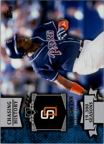 Photo of 2013 Topps Chasing History #CH149 Tony Gwynn