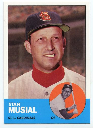 Photo of 2016 Topps Berger's Best Series 2 #BB21963 Stan Musial