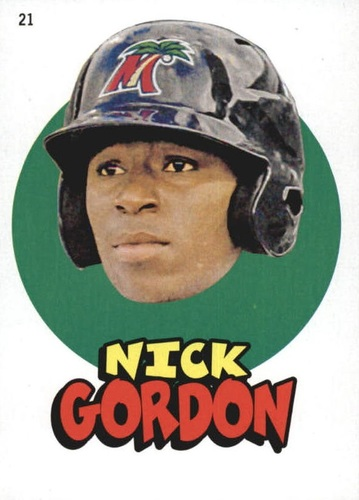 Photo of 2016 Topps Heritage Minors '67 Topps Stickers #21 Nick Gordon