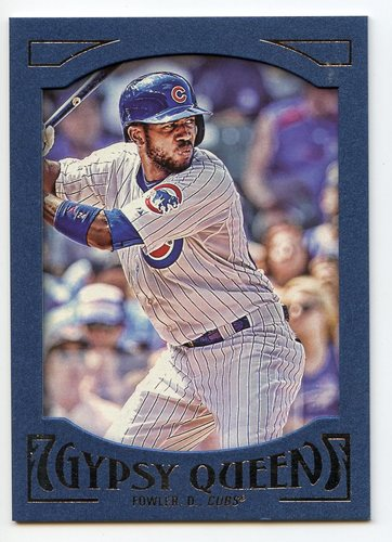 Photo of 2016 Topps Gypsy Queen Framed Blue #50 Dexter Fowler