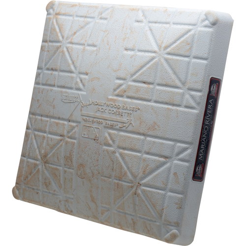 Photo of New York Yankees Game-Used 1st Base vs. Cleveland Indians on August 17, 2019 - Gregorius HR, Torres HR