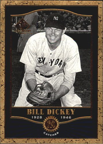 Photo of 2001 SP Legendary Cuts #79 Bill Dickey