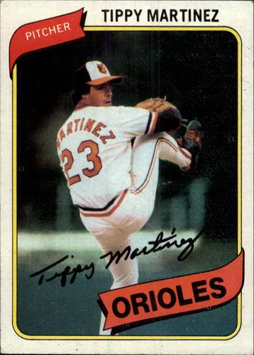 Photo of 1980 Topps #706 Tippy Martinez