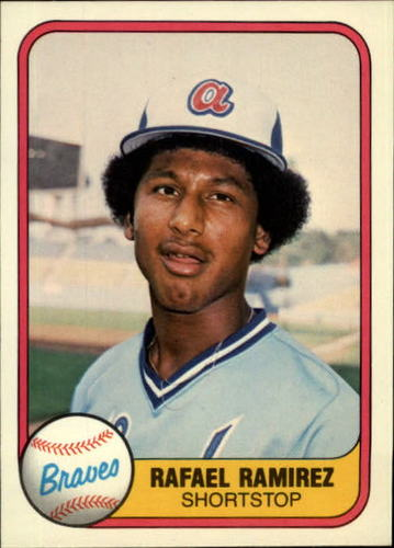 Photo of 1981 Fleer #266 Rafael Ramirez RC