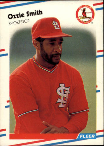 Photo of 1988 Fleer #47 Ozzie Smith