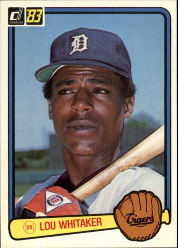 Photo of 1983 Donruss #333 Lou Whitaker