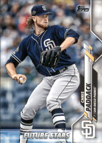 Photo of 2020 Topps #244 Chris Paddack FS