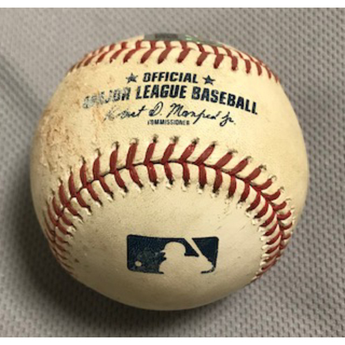 Photo of 2020 World Series Participant Cody Bellinger Game-Used Baseball: 9/8/20 Dodgers at D-backs, Bellinger Singled off of Luke Weaver in the top of the 3rd