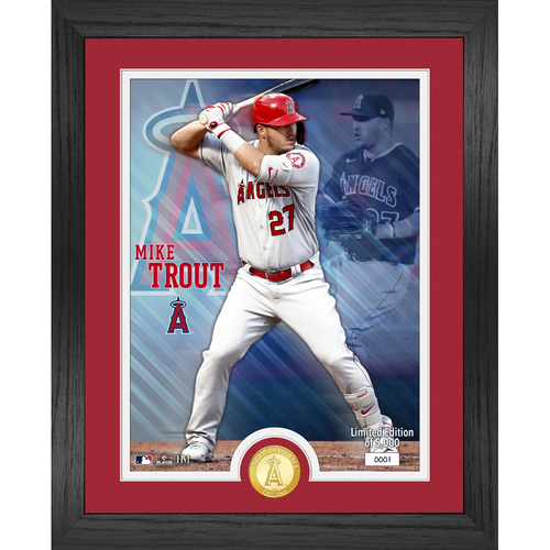 Photo of Mike Trout Bronze Coin Photo Mint